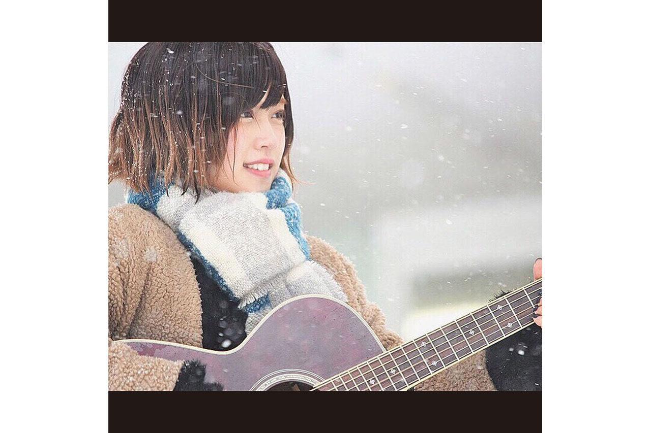 猛吹雪の中でのライブは一生忘れません(笑)。