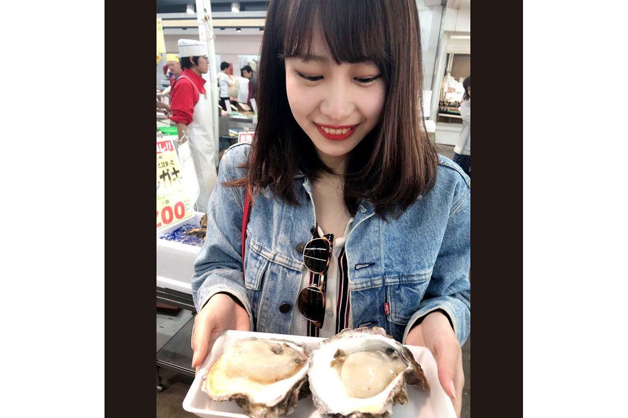 手頃なお値段で食べれるのが嬉しい寺泊の生牡蠣!美味!